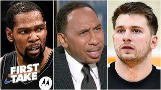 'Luka ain't Kevin Durant!' - Stephen A. and Max debate the best player on the planet   First Take