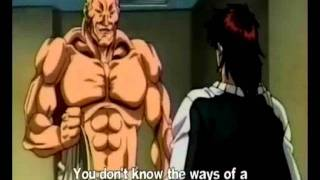 the best karate demonstration anime fight