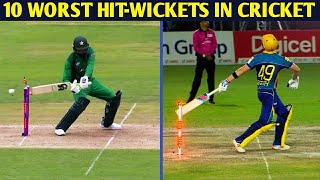 Top 10 Worst Hit-Wickets in Cricket History    Cricket Addict   