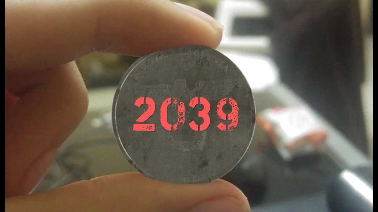 The worker found a Nazi coin - 2039 on the coin / Code 923(239)