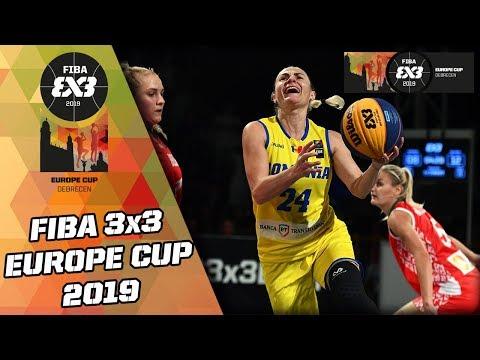 Romania V Belarus | Women's Full Game | FIBA 3x3 Europe Cup 2019