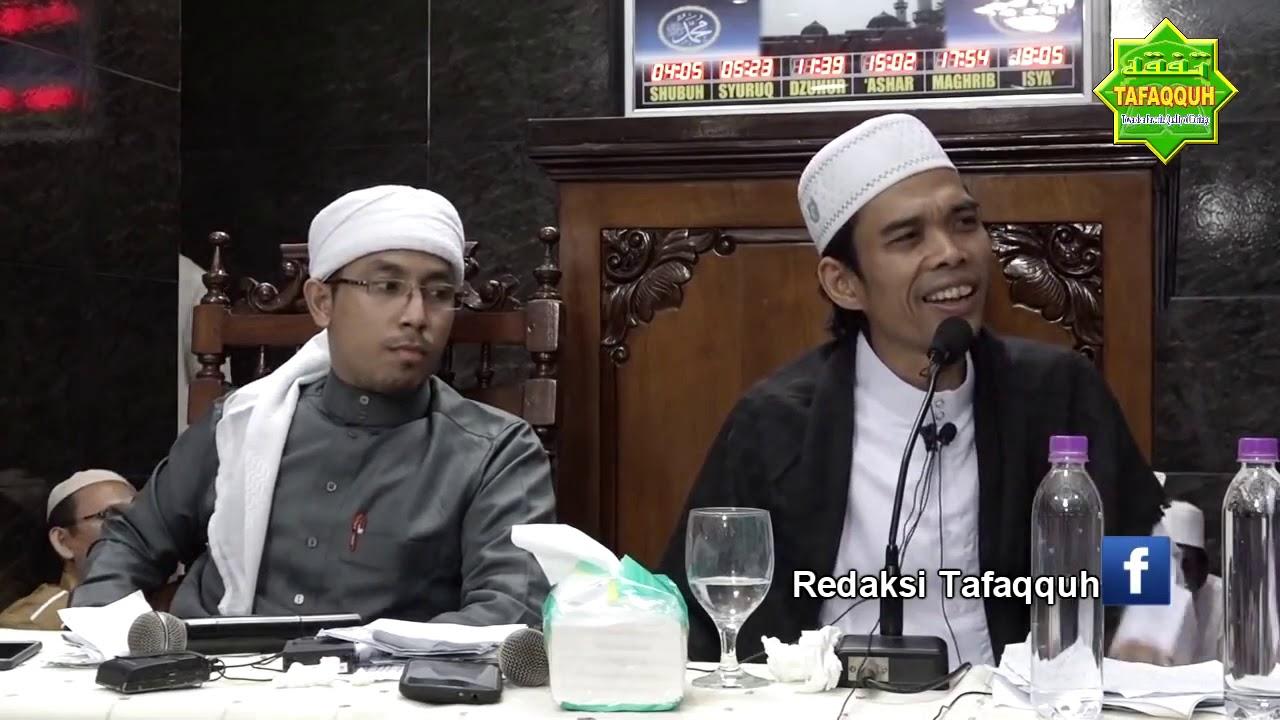 Ustad Abdul Somad!! Menikah Dengan Janda... - YouTube