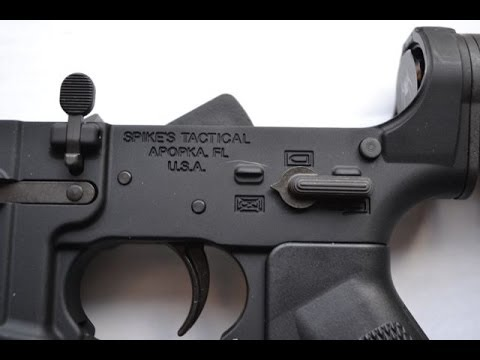 Spikes Tactical multi caliber complete AR lower receiver