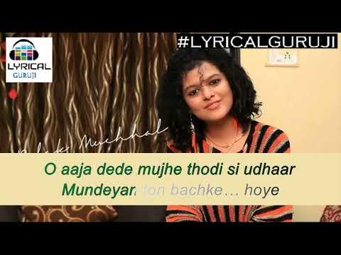 Mundiyan Song (Lyrics) - Navraj Hans, Palak Muchhal - Baaghi 2 - Lyrics#LYRICALGURUJI