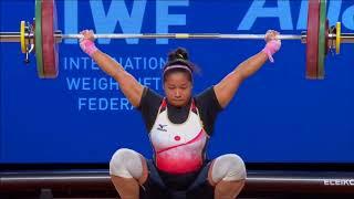 2017 World Weightlifting Championships. women 75kg \ Чемпионат мира женщины до 75кг