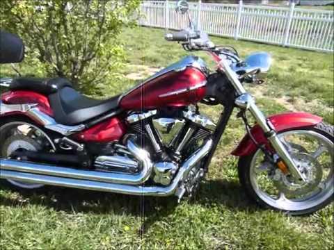 2008 Yamaha Raider S XV1900 stock #9-4673 demo ride walk around ...