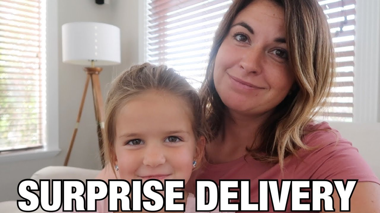 WHEN YOUR HUSBAND ORDERS SOMETHING ONLINE AND DOESN'T TELL YOU WHAT IT IS   SURPRISE DELIVERY