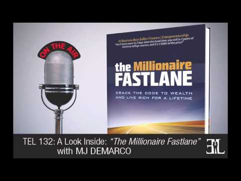 The Millionaire Fast Lane by MJ Demarco TEL 132