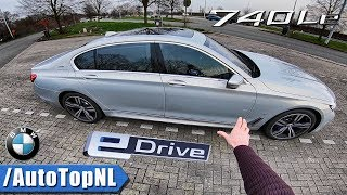 BMW 7 Series 740Le REVIEW POV Test Drive by AutoTopNL