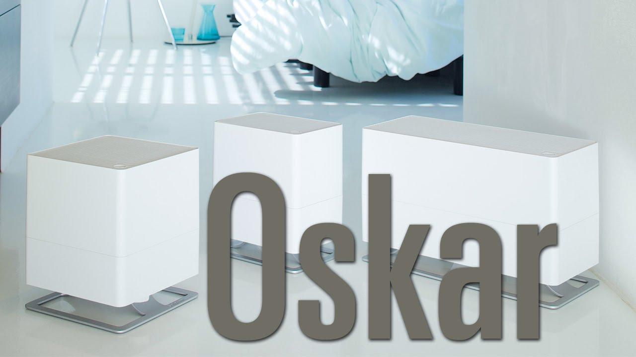 stadler form oskar verdunster luftbefeuchter oskar big oskar little youtube. Black Bedroom Furniture Sets. Home Design Ideas