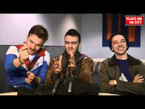 Misfits Season 4 Interview - Joe Gilgun, Matt Stokoe & Nathan McMullen (Rudy, Alex & Finn)