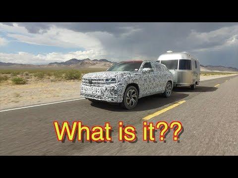 What is it? // Okay-- it's the VW Atlas Cross Sport