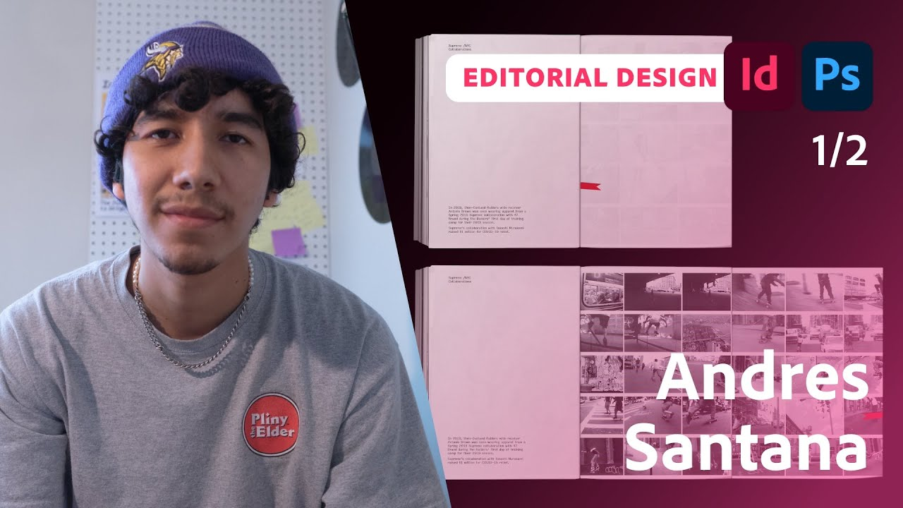 Designing a Magazine with Andres Santana - 1 of 2