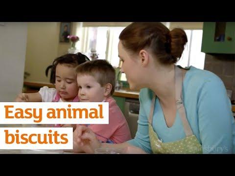 Easy Animal Biscuits | Recipe | Sainsbury's
