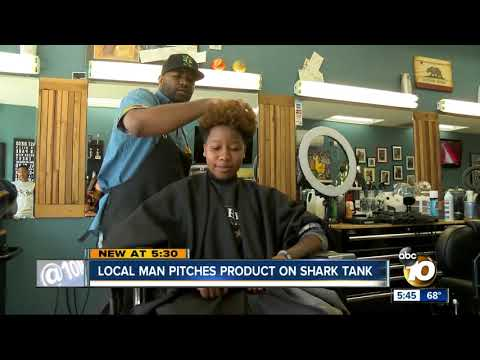 San Diego man pitches product on Shark Tank