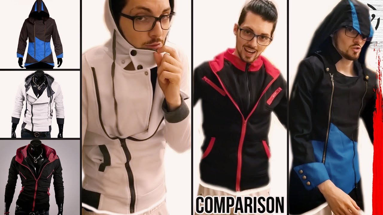 Comparing 10 Assassin S Creed Hoodies From China Youtube