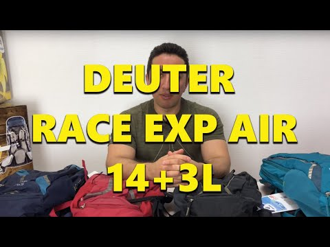 Обзор рюкзака Deuter Race Exp Air 14+3