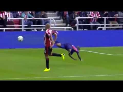 Ashley Young Dive | Man United 1-1 Sunderland