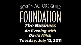 The Business: An Evening with Acclaimed Writer/Producer David Milch