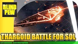 Elite Dangerous - Thargoid Battle for Sol