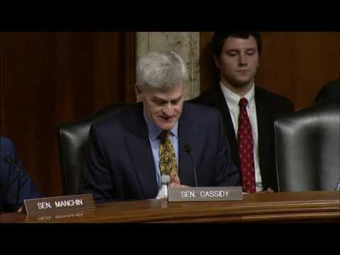 Cassidy Chairs Energy Subcommittee Hearing on Small Scale LNG Access Act