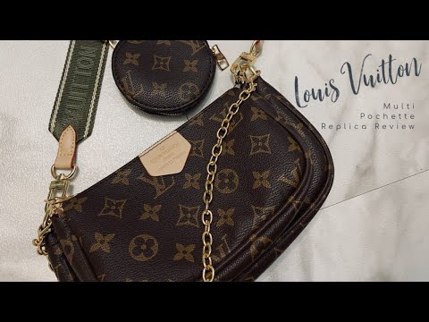 Louis Vuitton Multi Pochette Replica Review | 2020