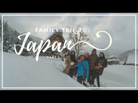 Liburan sama keluarga ke JEPANG!! #1