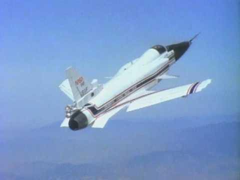 Grumman X-29 Forward Swept Wing Technology Demonstrator - NASA DFRC videos
