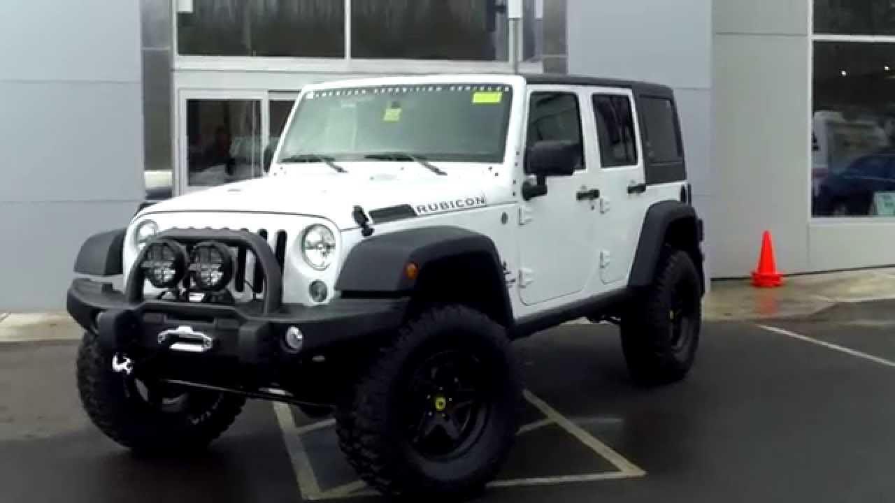 2015 AEV Jeep Wrangler Unlimited Rubicon JK350 American