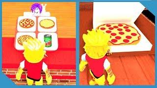 COMMENT FAIRE DES PIZZAS - ROBLOX WORK AT A PIZZA PLACE