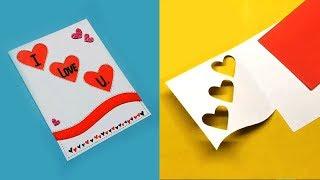 Greeting Cards Latest Design Handmade   I Love You Card Ideas 2019