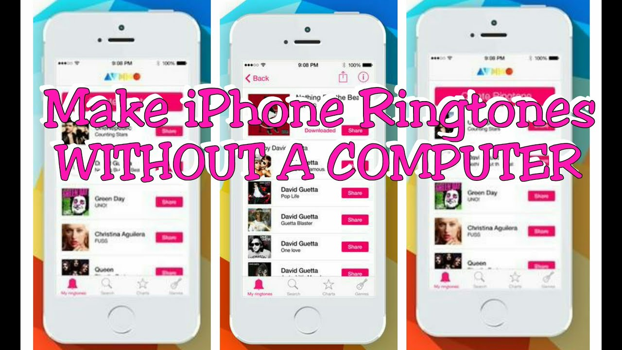 make ringtones for iphone how to make iphone ringtones without a computer 8016