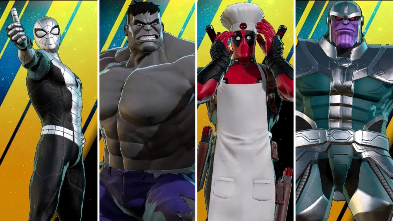 Marvel Ultimate Alliance 3 The Black Order All Alternate Costumes Youtube Guide for the tower defence infinity trial in ultimate alliance 3 (mua3) that offer an alternative captain america costume as a reward. marvel ultimate alliance 3 the black order all alternate costumes