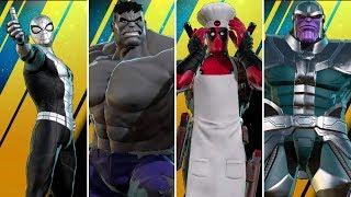 Marvel Ultimate Alliance 3: The Black Order - All Alternate Costumes
