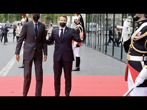 Download French president Emmanuel Macron to travel to Rwanda by the end of May