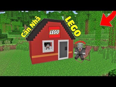 ĐI LÀM KIẾM TIỀN XÂY CĂN NHÀ LEGO TẶNG CHO BẠN THÂN TRONG MCPE | Thử Thách SlenderMan thumbnail