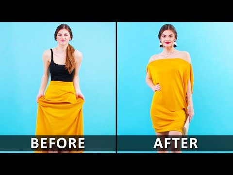 Super Cool Clothing Make Over Hacks and DIY Ideas by Blossom