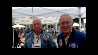Astronauts Al Worden and Charlie Duke Volunteer for The Space Station Museum!