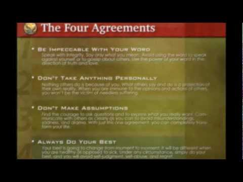 The Second Agreement Dont Take Anything Personally Youtube