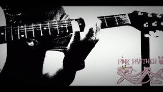 Pink panther on classic guitar 🎸