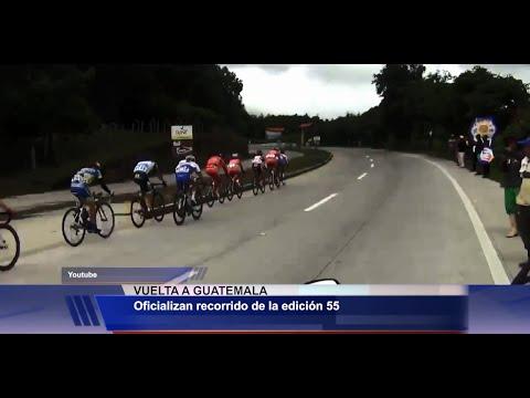 Itinerario de Vuelta Ciclística a Guatemala 2015 - Antigua Sports
