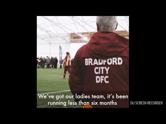 FA Cup TV Bradford City disability the ladies team