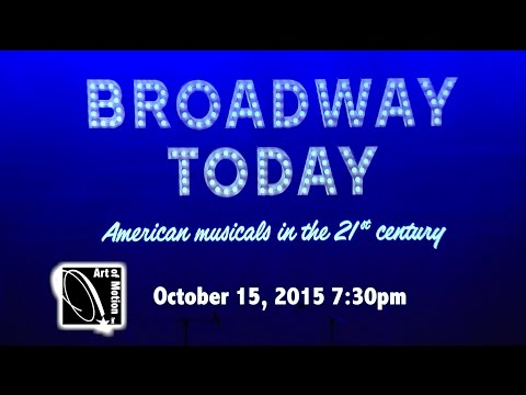 Art of Motion in Broadway Today - October 15, 2015