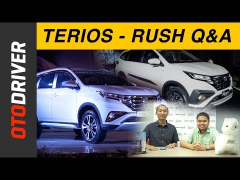 Daihatsu All New Terios 2018 & Toyota All New Rush 2018 Q&A | OtoDriver | Supported by SolarGard