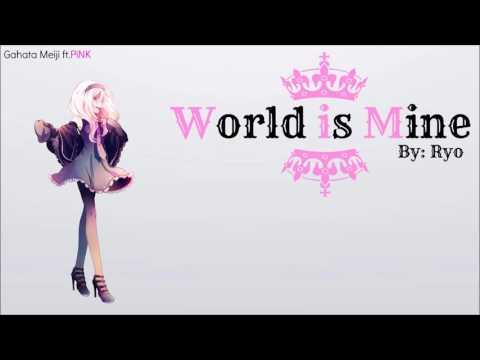 【Gahata Meiji -FANTASY-】 World Is Mine【 UTAUカバー 】
