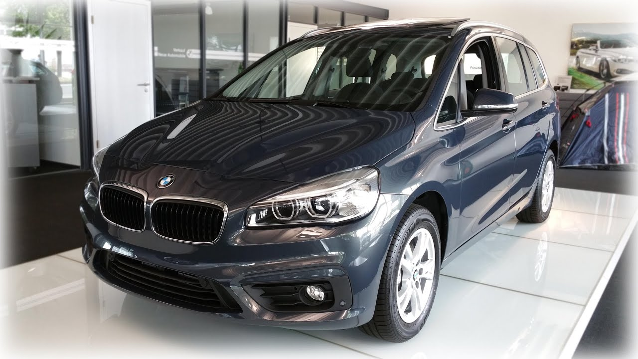 2015 bmw 218i gran tourer modell advantage youtube. Black Bedroom Furniture Sets. Home Design Ideas