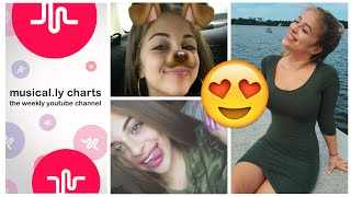 BABY ARIEL MUSICAL.LY COMPILATION  ❤️💛💚  BEST OF 2017