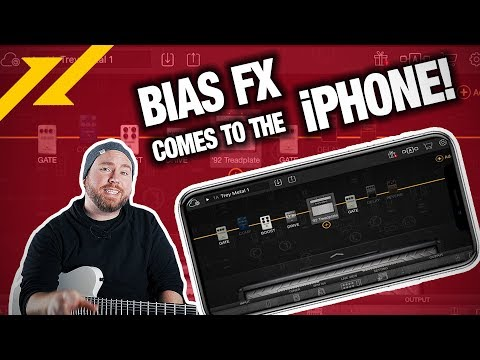 BIAS FX Universal for iPhone Review | GEAR GODS