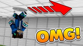 How To WALK ON WALLS in Minecraft! (Pocket Edition, Xbox, PC)