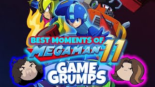 Best Moments Of Mega Man 11/Funny Moments-Best Of Game Grumps Compilation